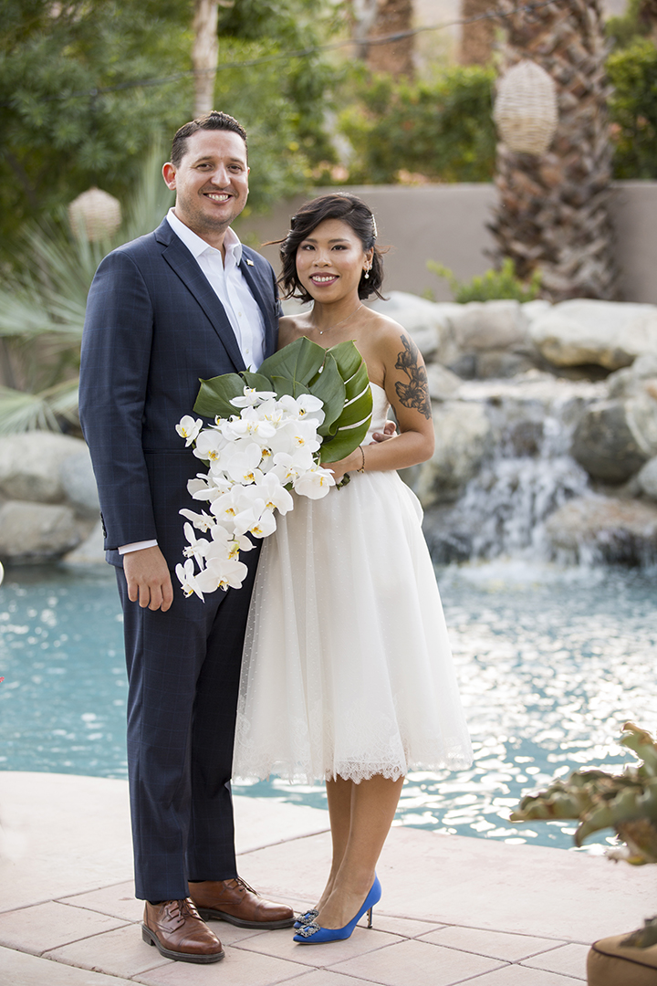 Palm springs wedding in the fall palm springs florist palm palm springs wedding at wonderful private residence mightylinksfo Choice Image
