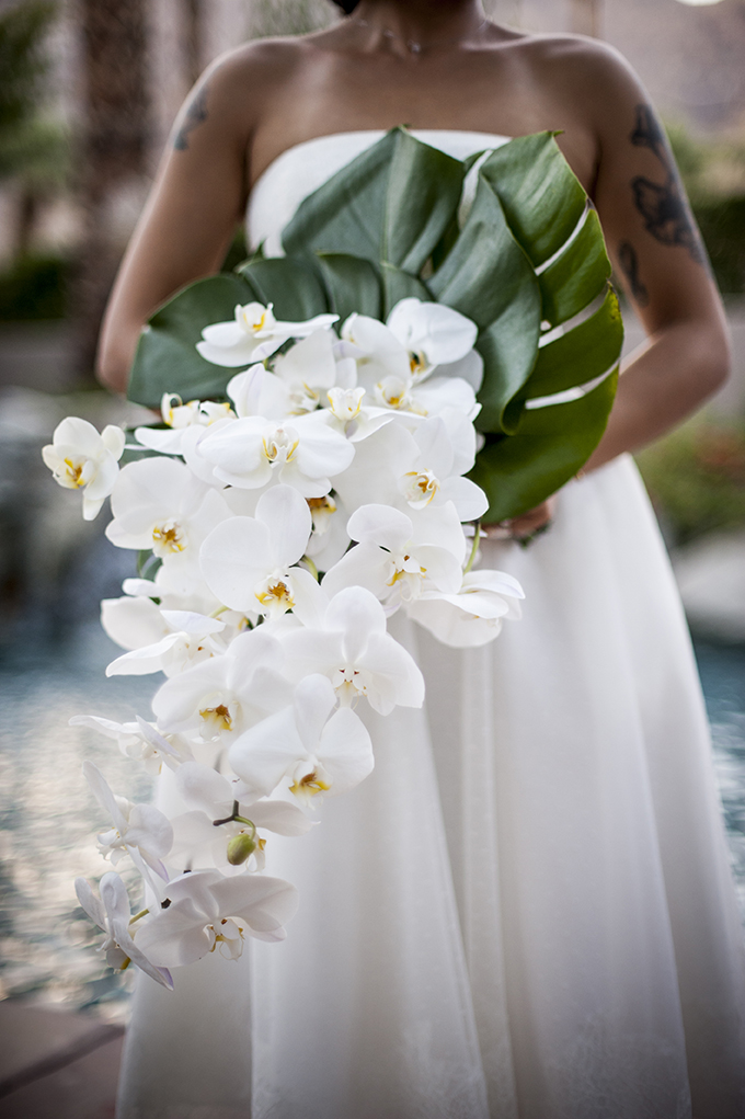 Palm Springs Wedding at wonderful private residence.