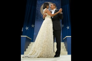 The First Lady's Jason Wu gown in 2009 - very bridal!